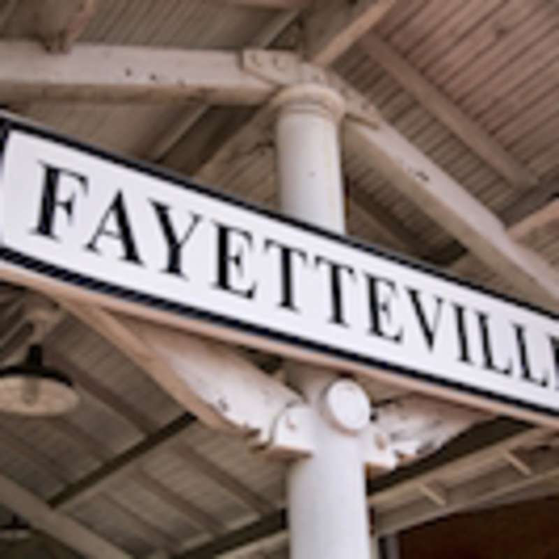 Fayetteville sign