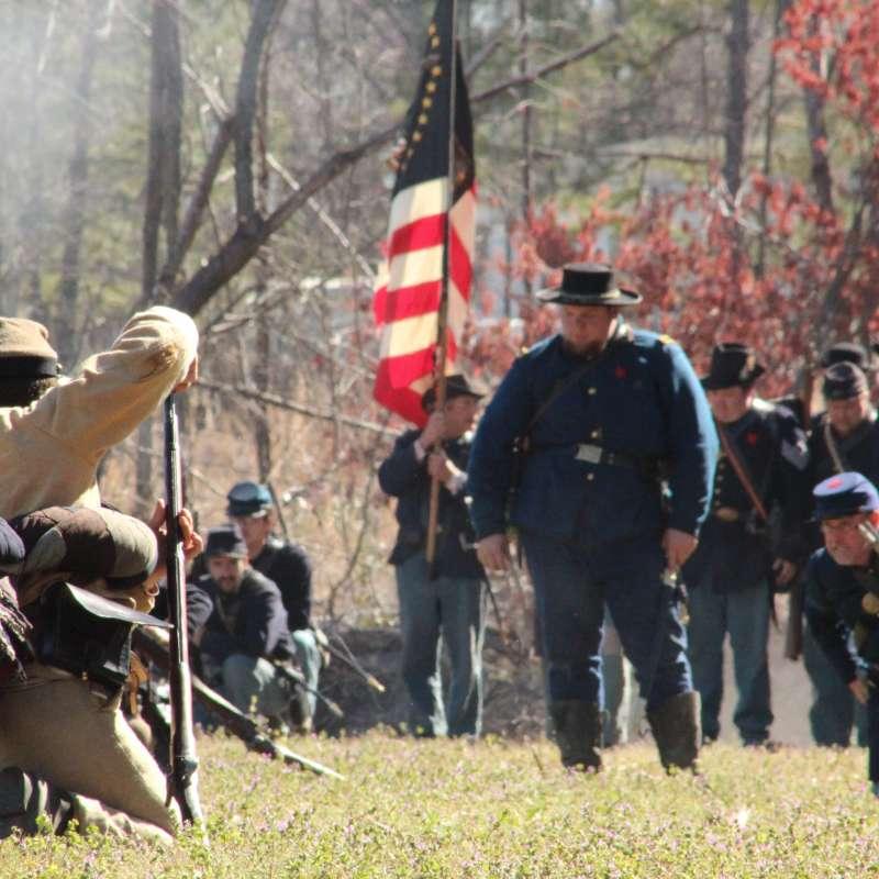 Oak Grove Civil War Reenactment