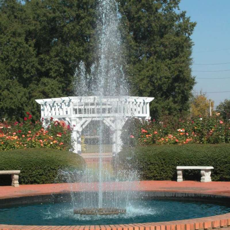 Fayetteville Rose Garden Fountain