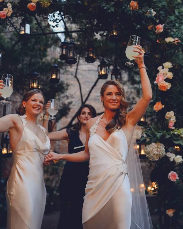 LGBT Courtyard Wedding