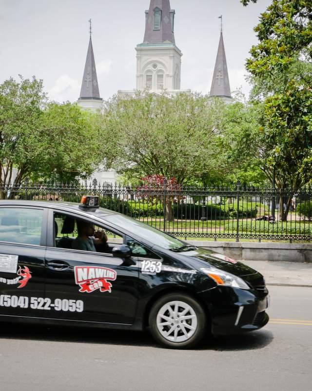 Taxi cab