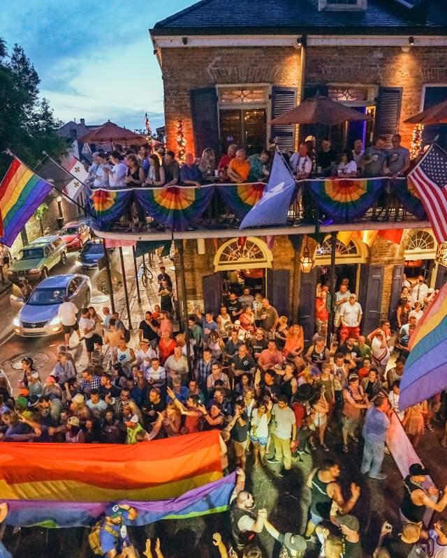 Gay Pride Parade 2015 on Bourbon Street