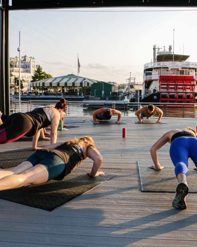 The Sweat Social Fitness Class