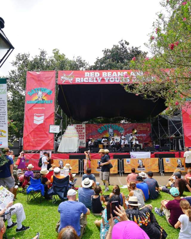 Pres Hall Brass Band - Satchmo Summerfest 2016