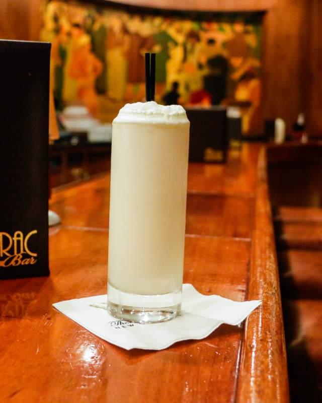 The Sazerac Bar- Ramos Gin Fizz