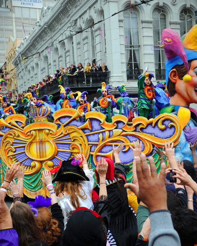 Rex Parade, Mardi Gras Day