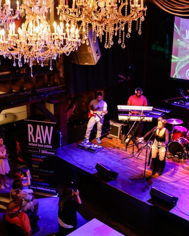 The Republic- Raw Artists Performance