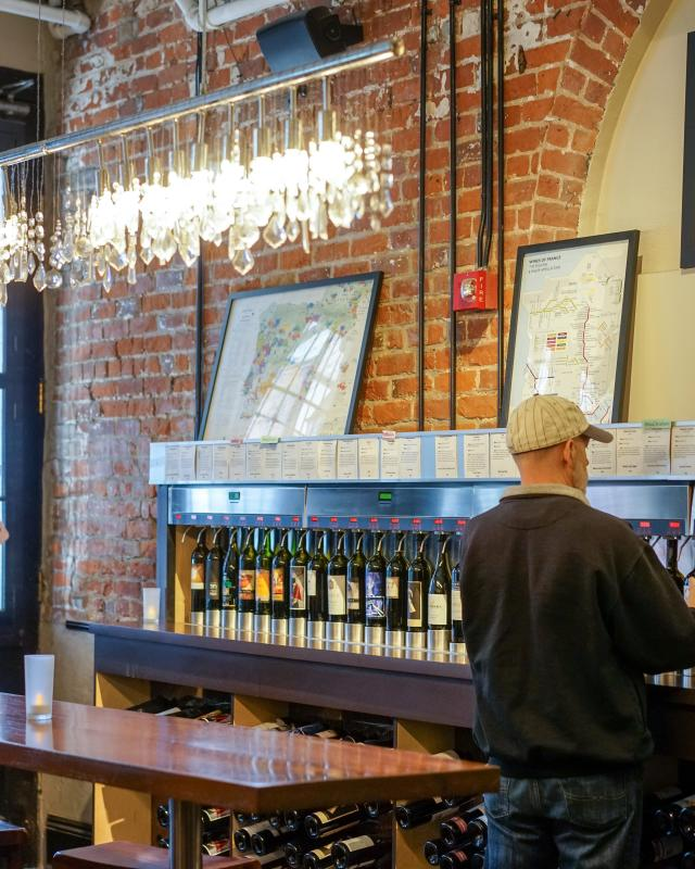 W.I.N.O. Wine Institute of New Orleans - Wine Bar - Warehouse District