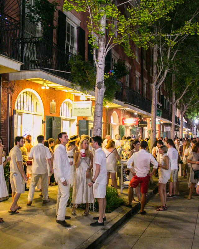 White Linen Night- Julia Street