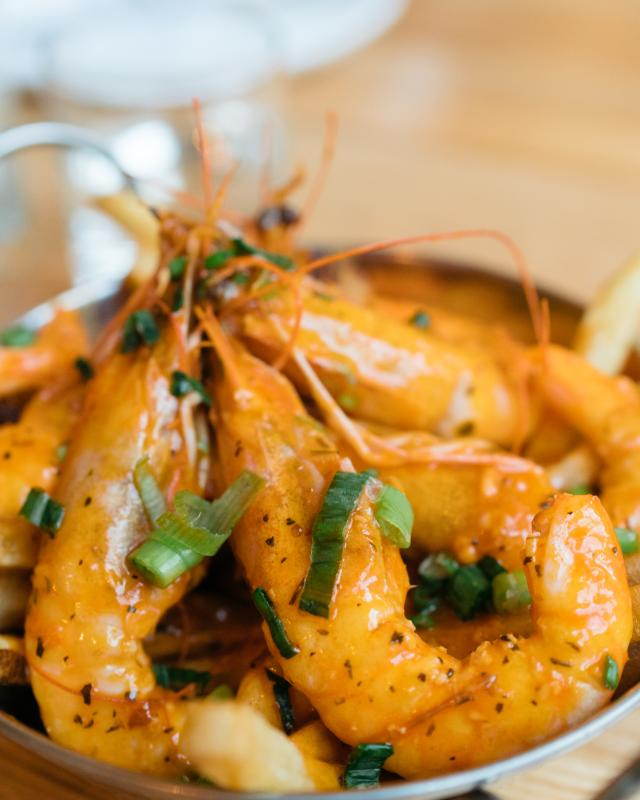 Spicy Shrimp Boil - Lula Restaurant & Distillery