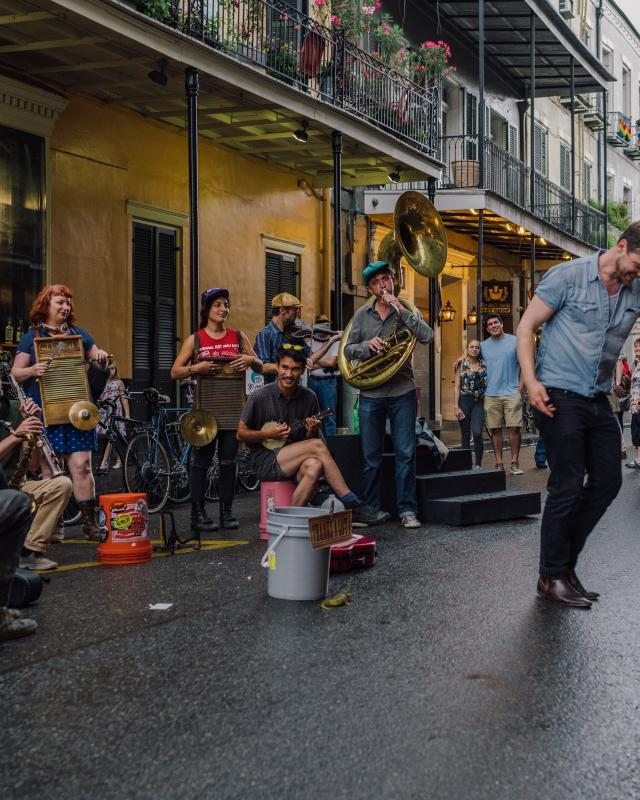 Big Dixie Swingers - Royal Street - French Quarter