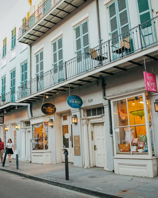 Royal Street Shopping