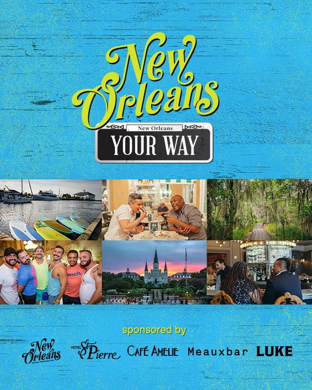 New Orleans Your Way Sweepstakes