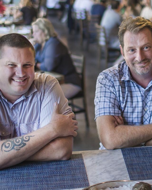 Chef Stephen Stryjewski and Chef Donald Link