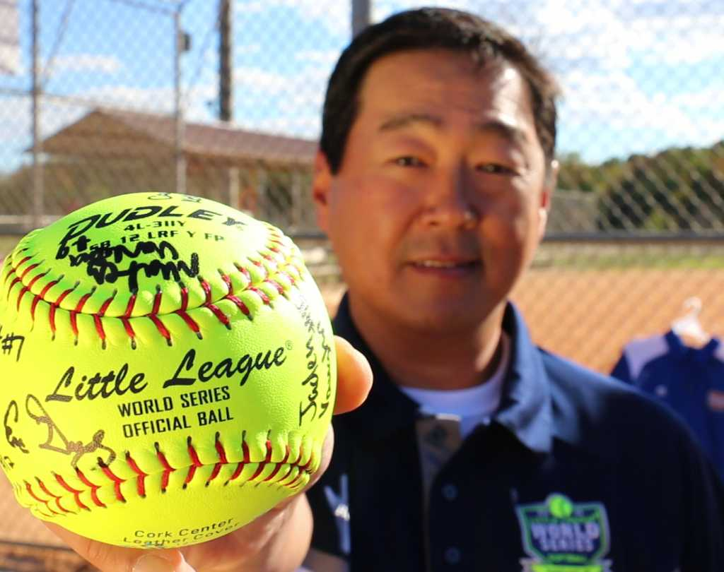 Official Little League World Series Ball signed
