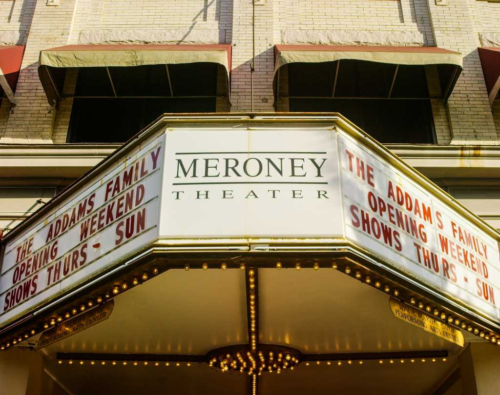 Meroney Theater Marquee