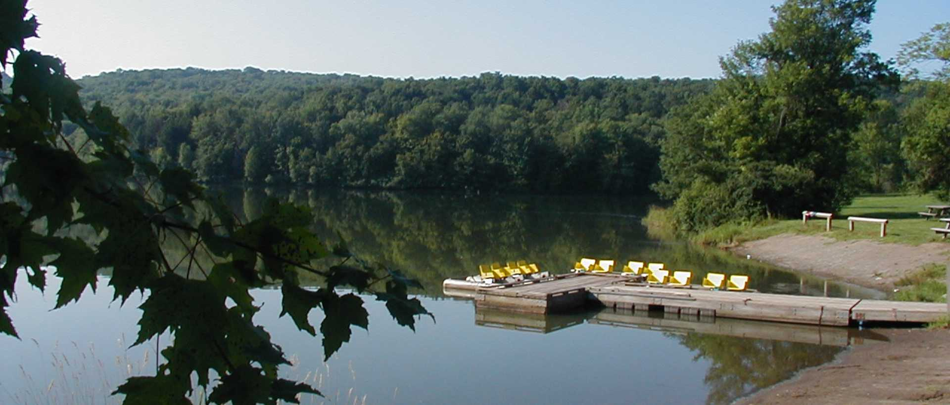 Dock at Lackawanna State Park