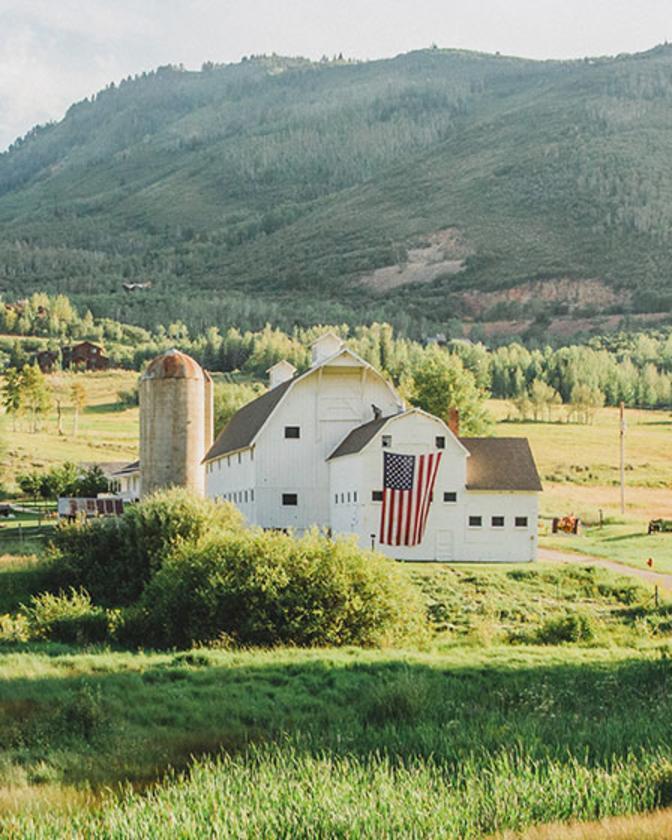 McPolin Farm is a favorite historic site in Park City, Utah
