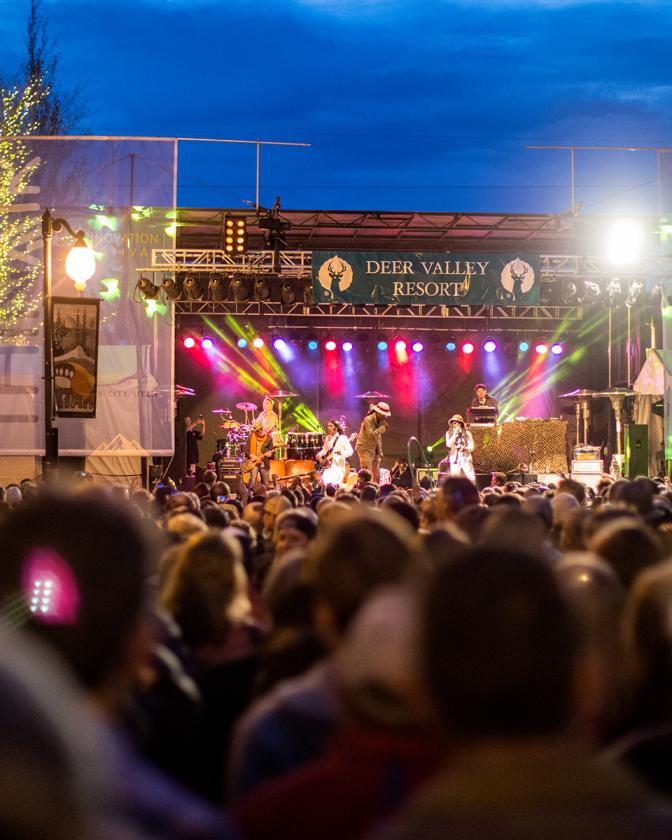 Outdoor Spring Concert on Main Street
