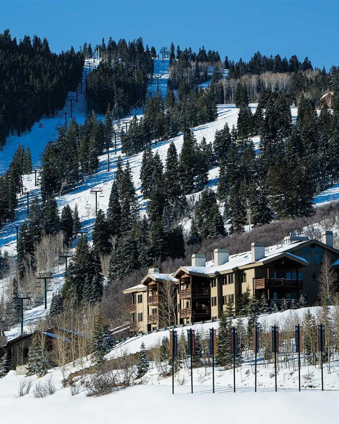 Deer Valley Resort Lodging - Winter