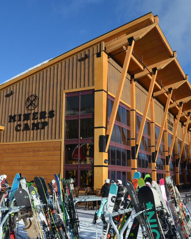 Park City Mountain Resort's Miners Camp