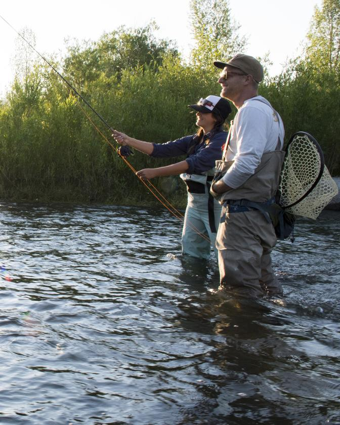 Guided Fly Fishing on the Provo River