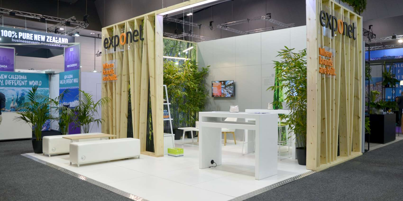 ExpoNet Redefining exhibitions with Aluvision