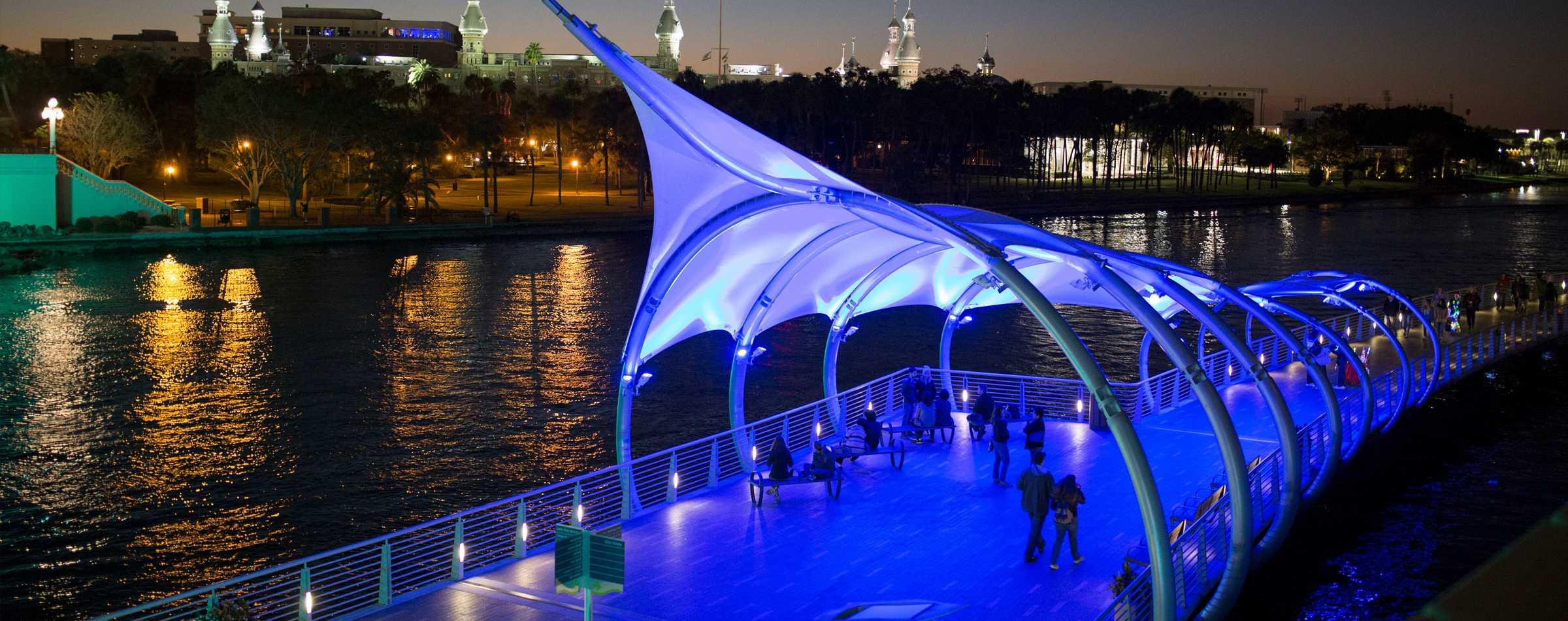Tampa's Riverwalk