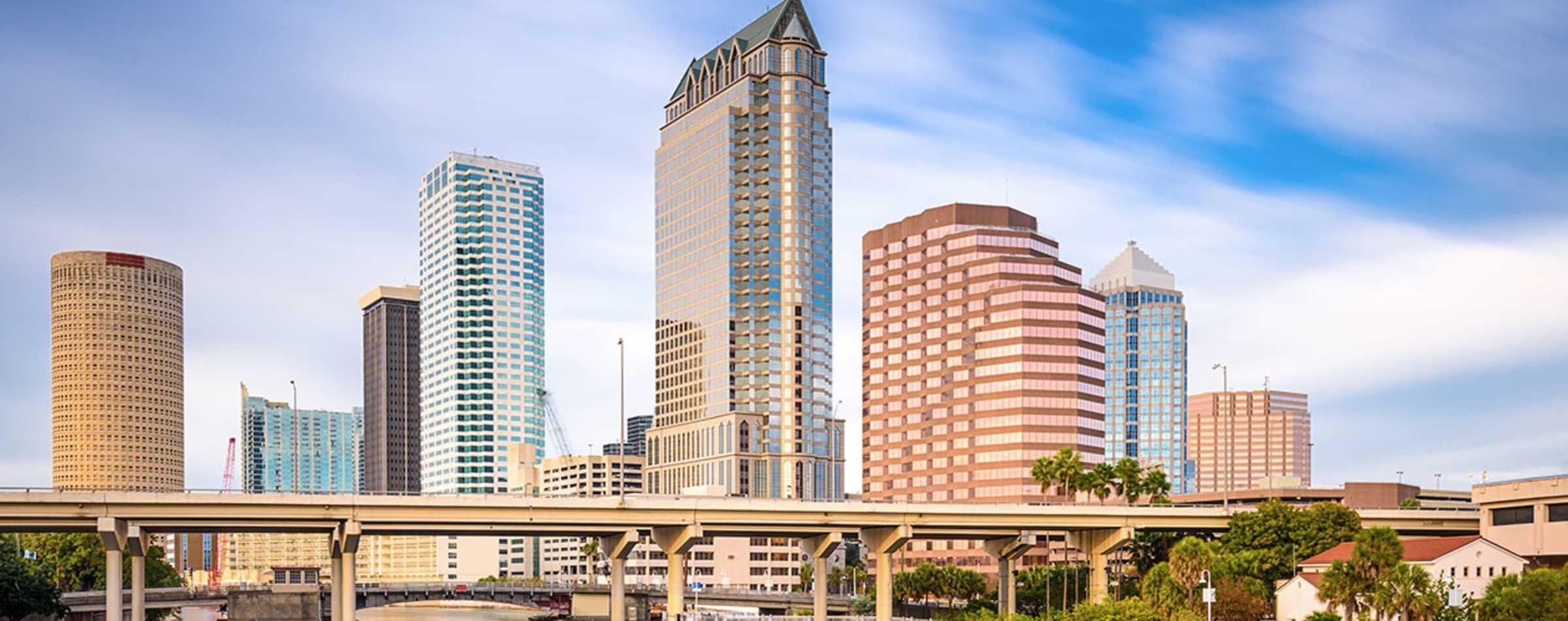 Tampa Downtown Skyline