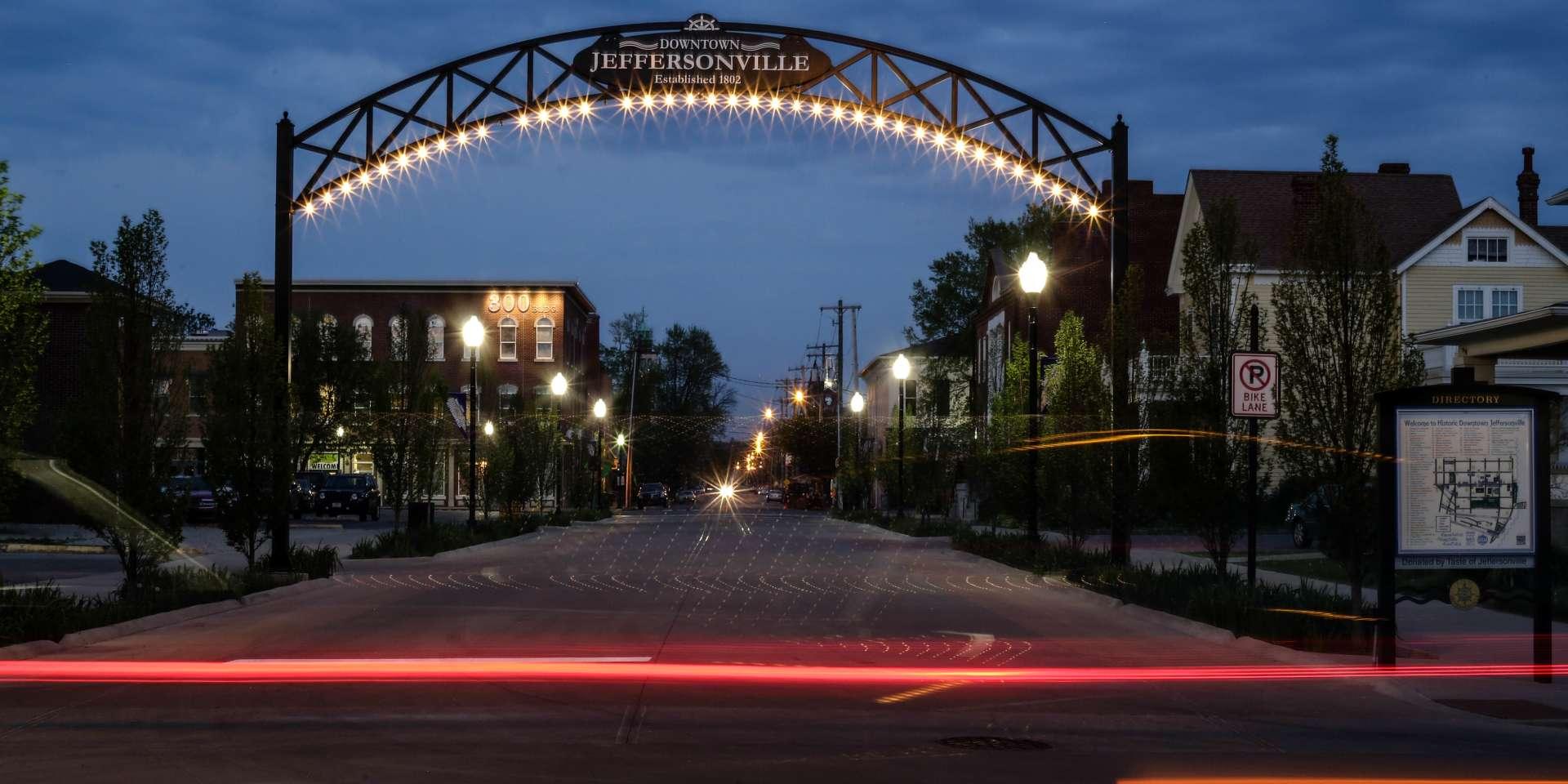 Jeffersonville Arch