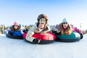 Tubing is fun for all ages in Park City
