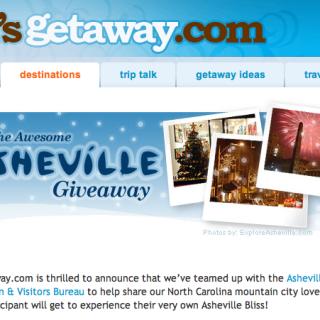 Win an Asheville Vacation at GirlsGetaway.com