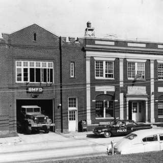 Black Mountain Firehouse Historical