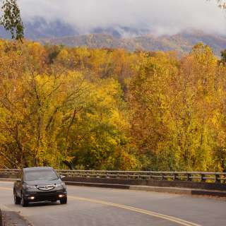 Scenic Fall Drive on the Parkway