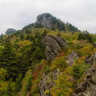 2015 Color Report: Linville Peak from Cliffside