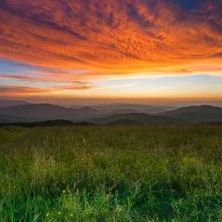 Max Patch Sunrise