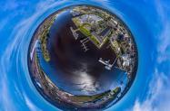SkyNav small planet logo