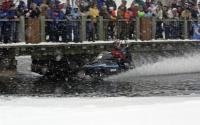 Snowmobiling-On Water