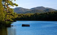 Lower Saranac Lake - Second Pond - Off Route 3