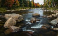 Ausable River by Olympic Jumping Complex
