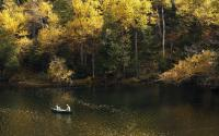 Fishing on Cascade Lake