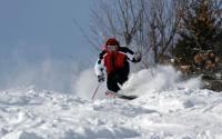 Skiing at Hunter Mountain 847