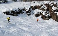Skiing at Hunter Mountain 849