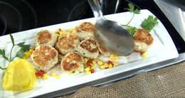 Jumbo Lump Crab Cake & Sweet Corn Chow-Chow