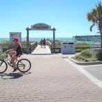 Biking Kure Beach