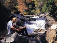 Waterfall Couple Big