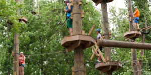 harpers ferry adventure center ropes course