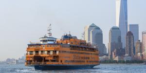 Harbor Views, Staten Island Ferry, Julienne Schaer