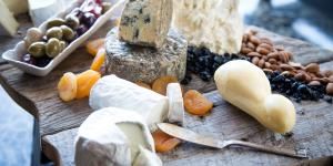 A cheese board from Calyroad Creamery
