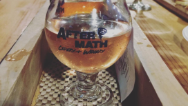 Aftermath Cidery and Winery Valparaiso flight